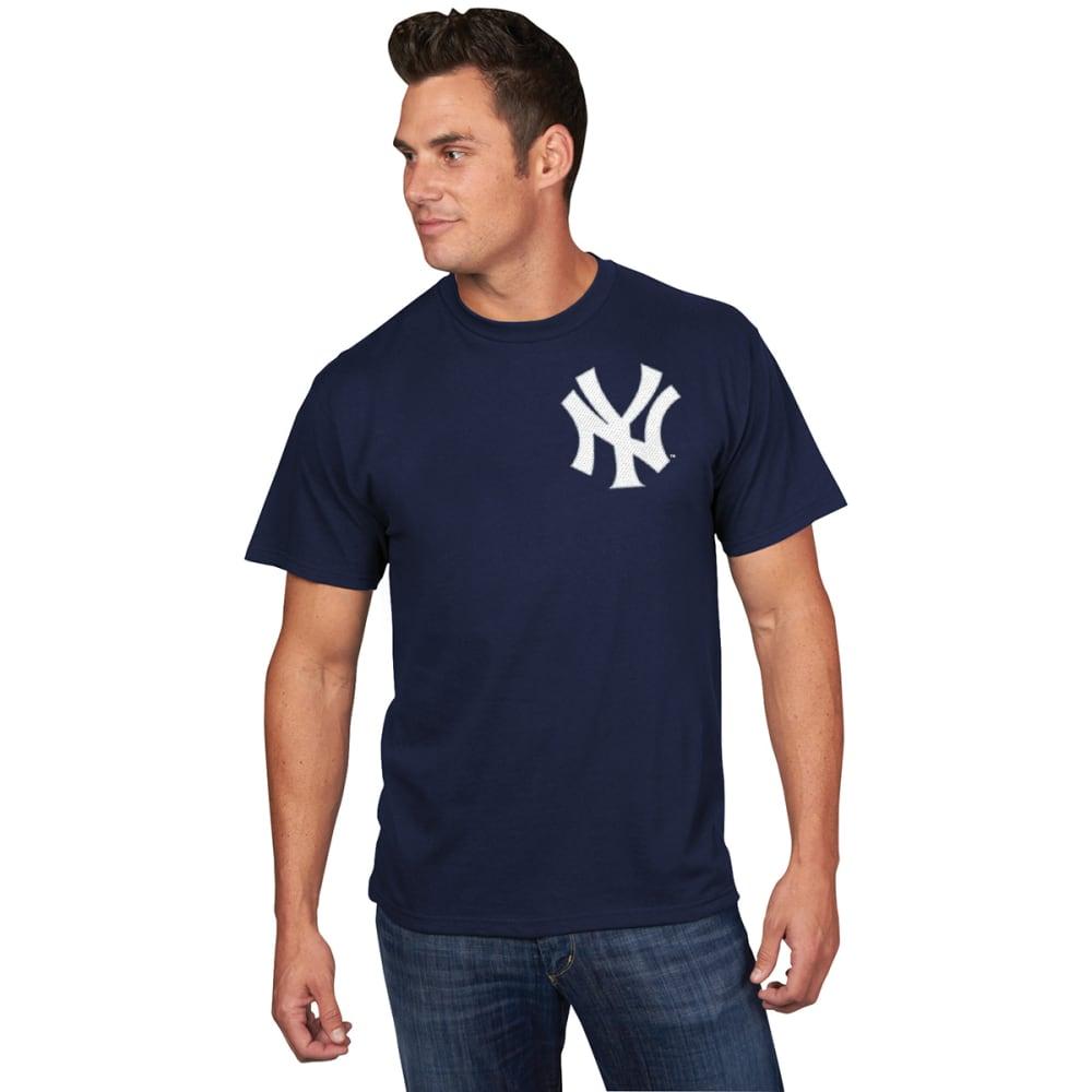 NEW YORK YANKEES Men's Giancarlo Stanton #27 Name and Number Short-Sleeve Tee - NAVY