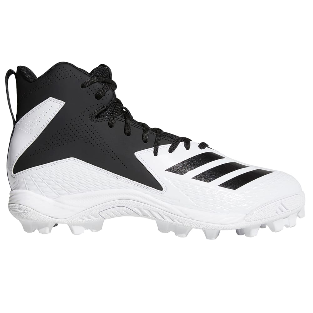 ADIDAS Kids' Freak Mid MD Football Cleats - WHITE