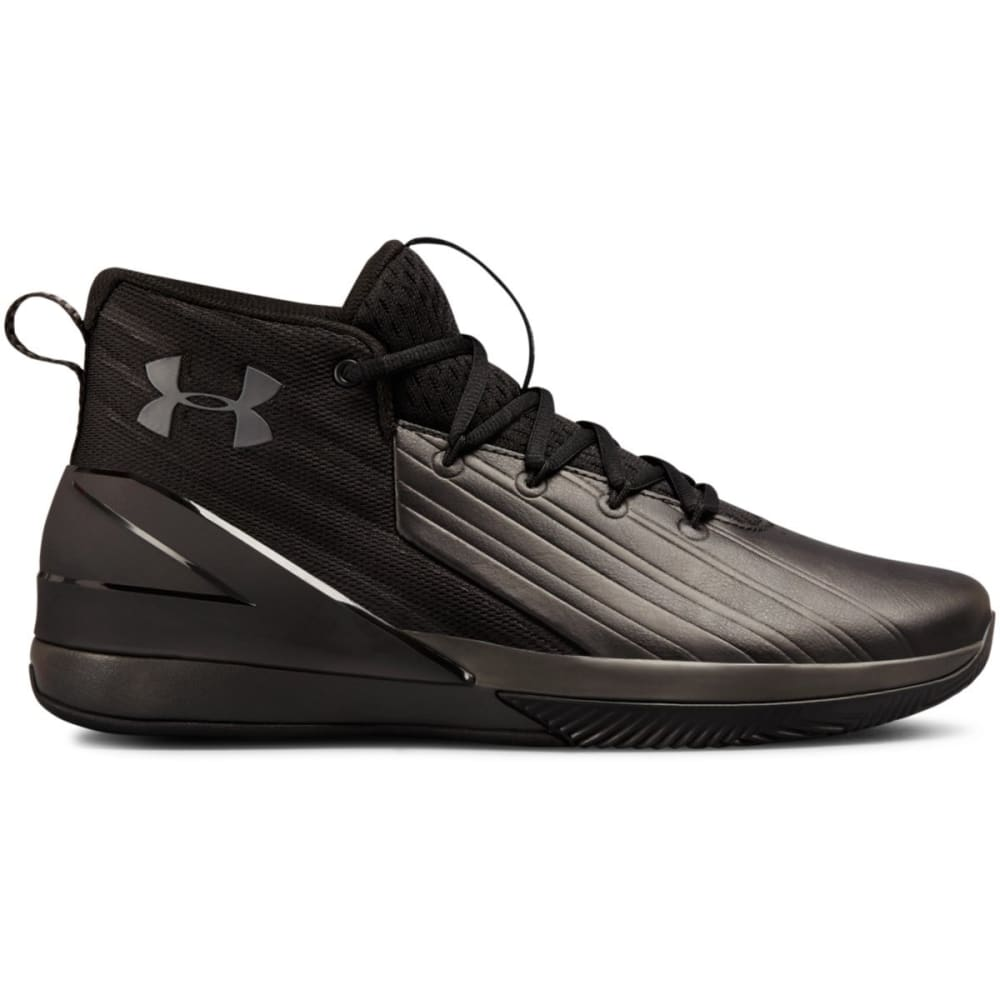UNDER ARMOUR Men's UA Lockdown 3 Basketball Shoes - BLACK - 001