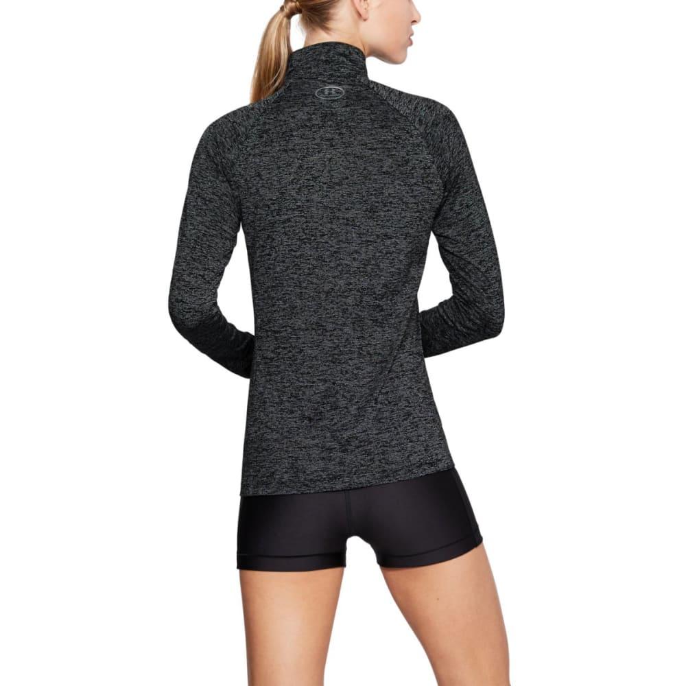 UNDER ARMOUR Women's UA Tech Twist Half Zip Pullover - 001-BLK/BLK