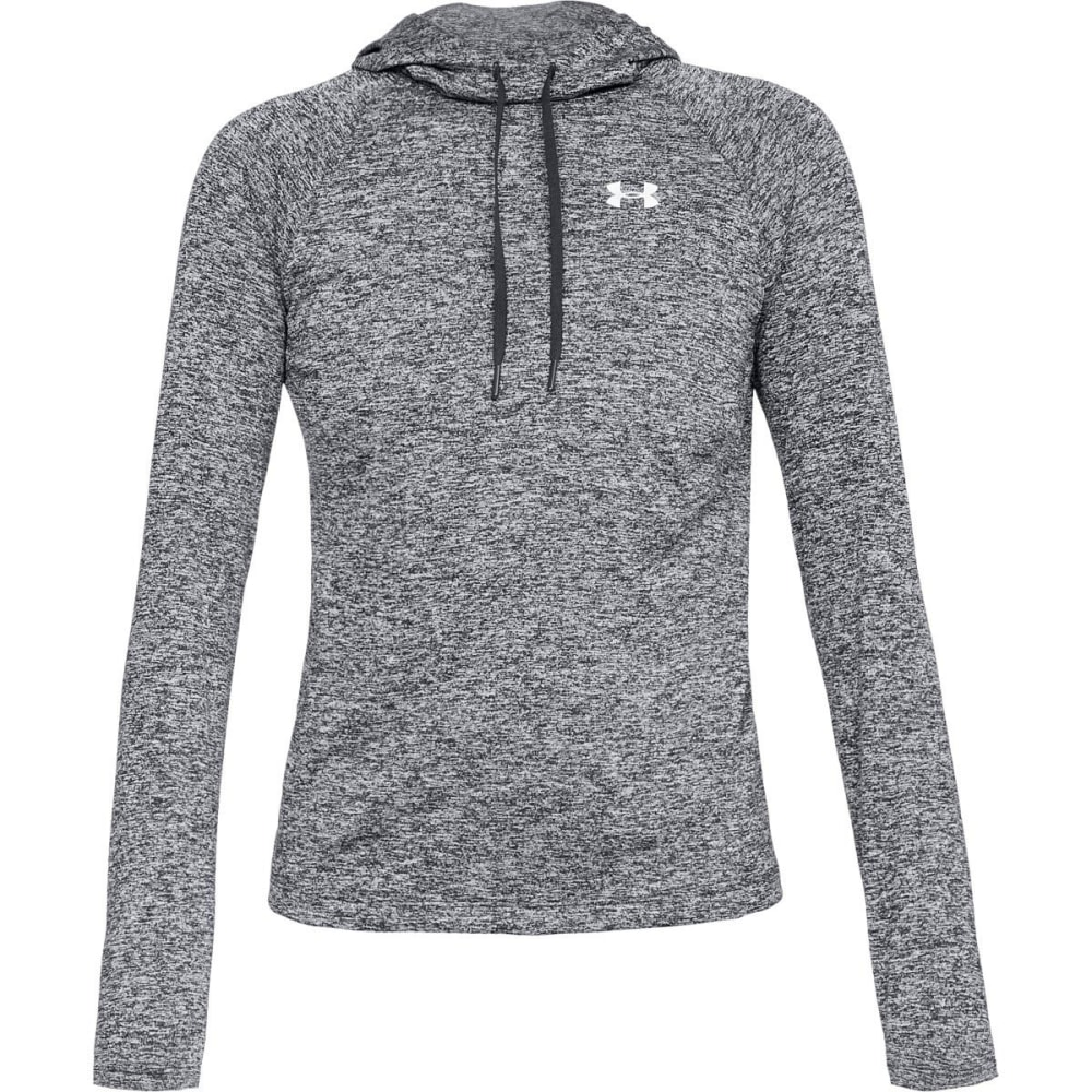 UNDER ARMOUR Women's UA Tech™ Twist Pullover Hoodie - 001-BLACK