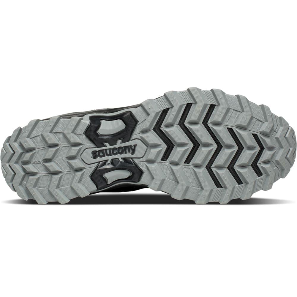 SAUCONY Men's Grid Excursion TR12 Trail Running Shoes, Wide - BLACK - 2
