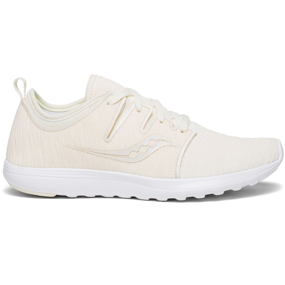 SAUCONY Women's Eros Lace Running Shoes - WHITE-15