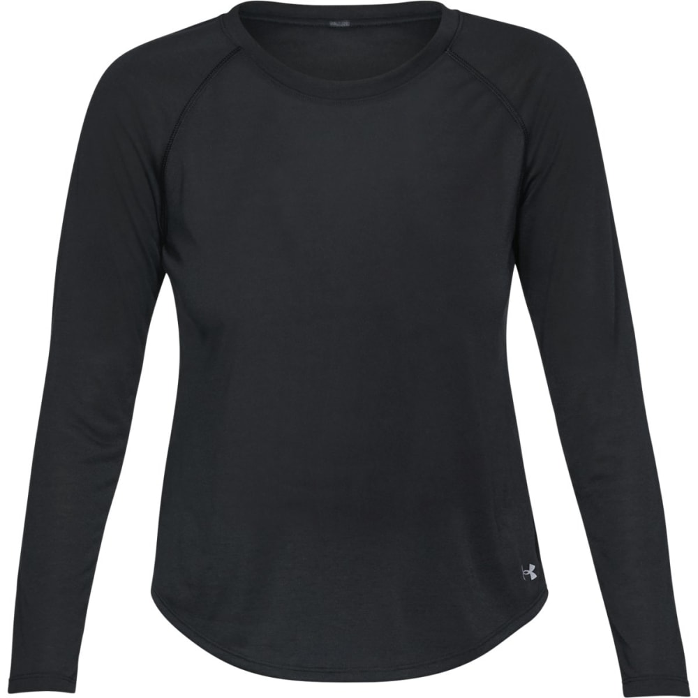 Under Armour Women's Ua Whisperlight Long-Sleeve Shirt - Black, S