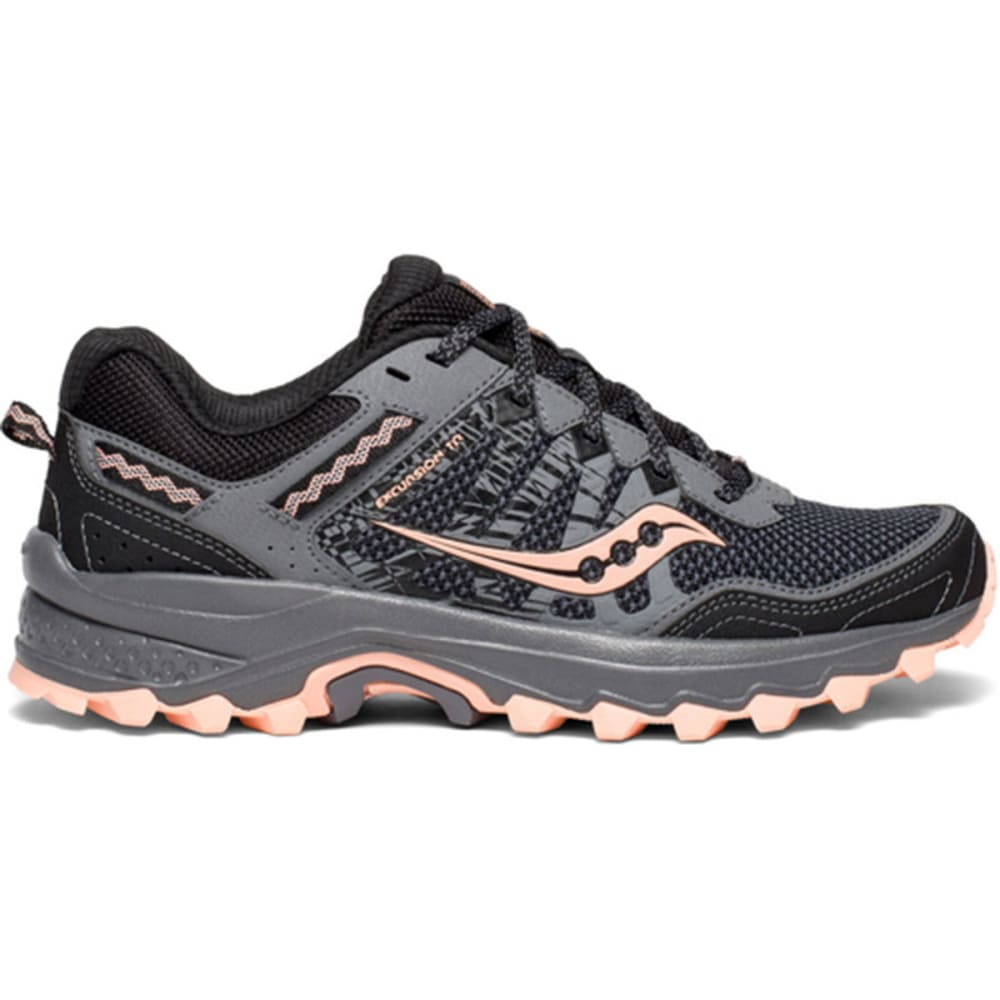 SAUCONY Women's Grid Excursion TR12 Trail Running Shoes - GREY2