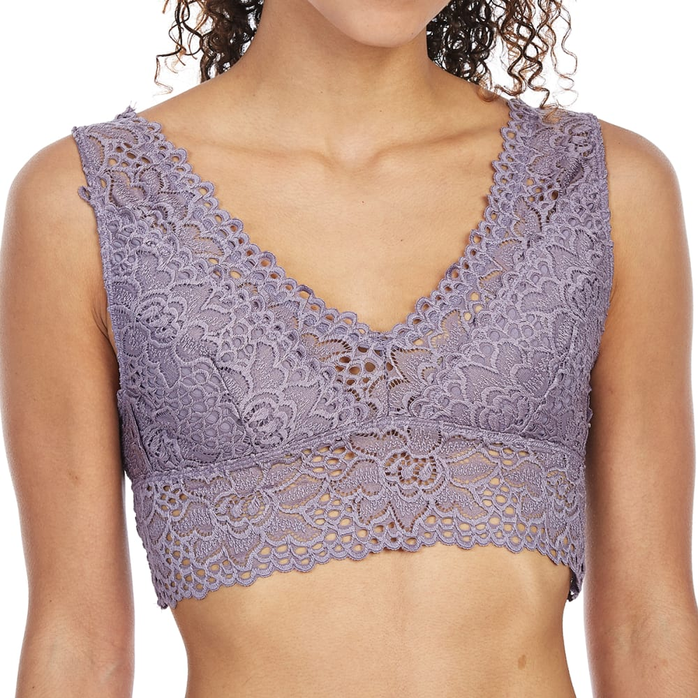 POOF Juniors' Lace Tank Bralette S