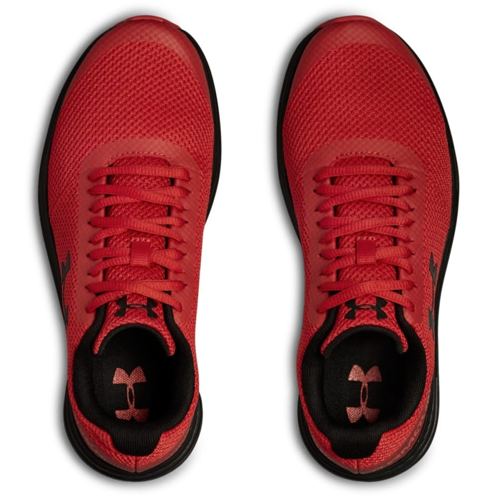 UNDER ARMOUR Big Boys' Grade School UA Surge Running Shoes - RED-600
