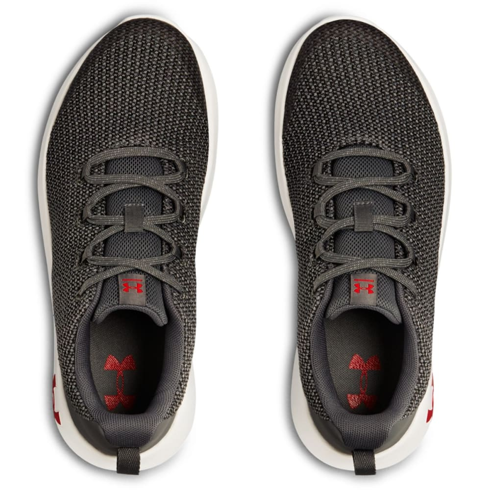 UNDER ARMOUR Big Boys' Grade School Ripple Running Shoes - GRAPHITE -100