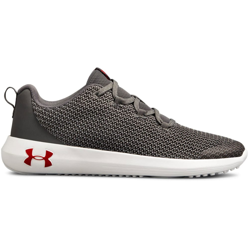 UNDER ARMOUR Big Boys' Grade School Ripple Running Shoes - GRAPHITE -100