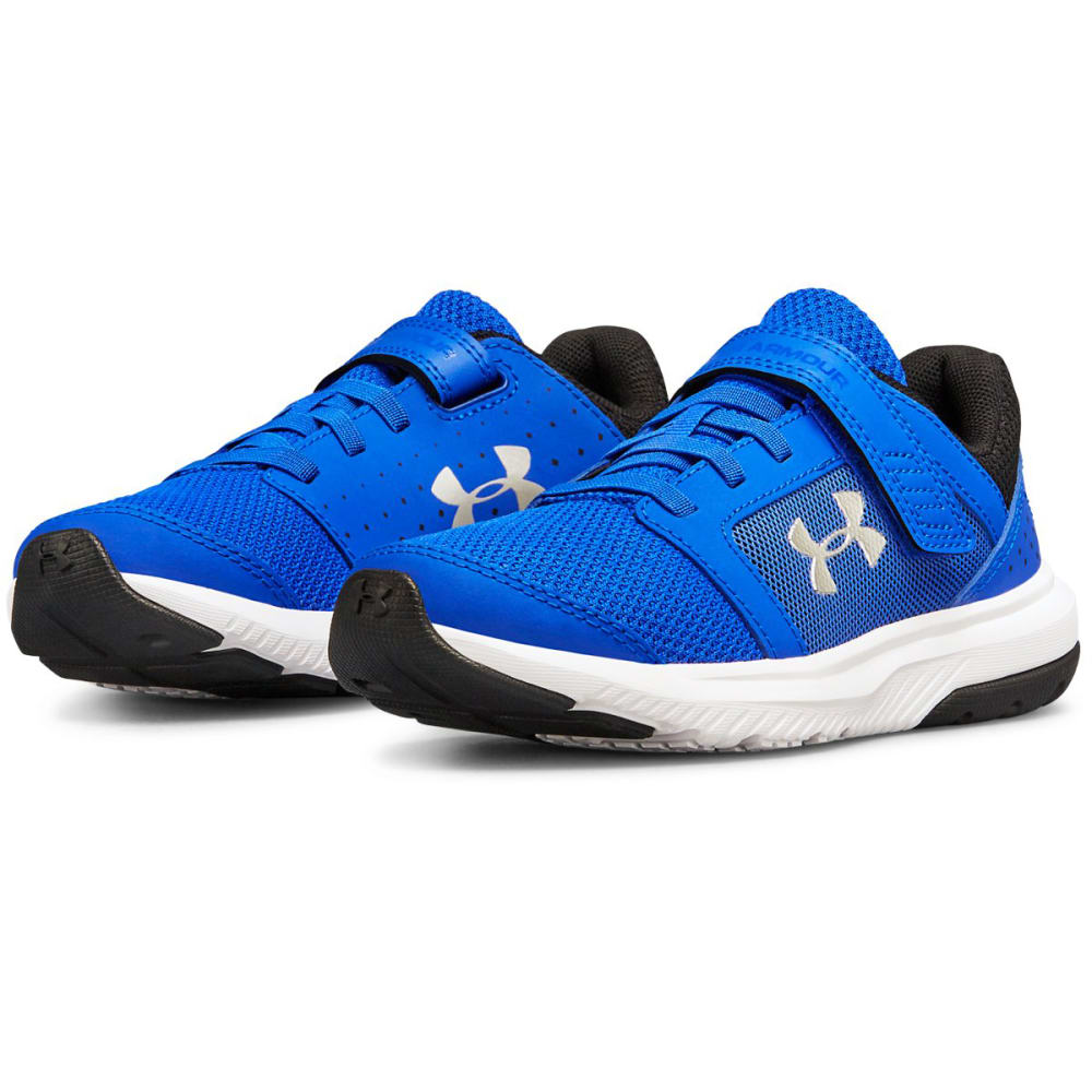 UNDER ARMOUR Little Boys' Preschool Unlimited AC Running Shoes - TEAM ROYAL -400