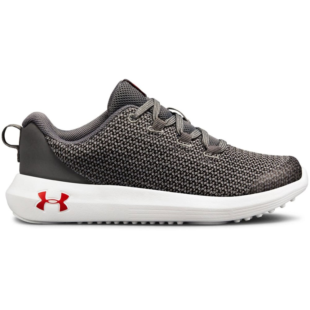 UNDER ARMOUR Little Boys' Preschool Ripple Running Shoes - GRAPHITE - 100
