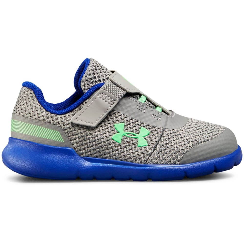 UNDER ARMOUR Toddler Boys' UA Surge Alternate Closure Sneakers - STEEL -101