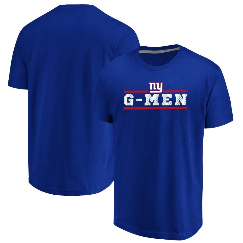 NEW YORK GIANTS Men's Safety Blitz G-Men Short-Sleeve Tee L
