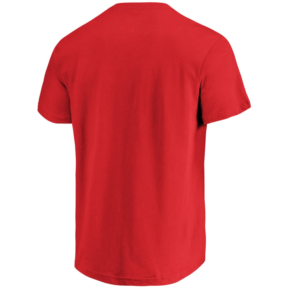 NEW YORK GIANTS Men's Primary Receiver Short-Sleeve Tee - RED