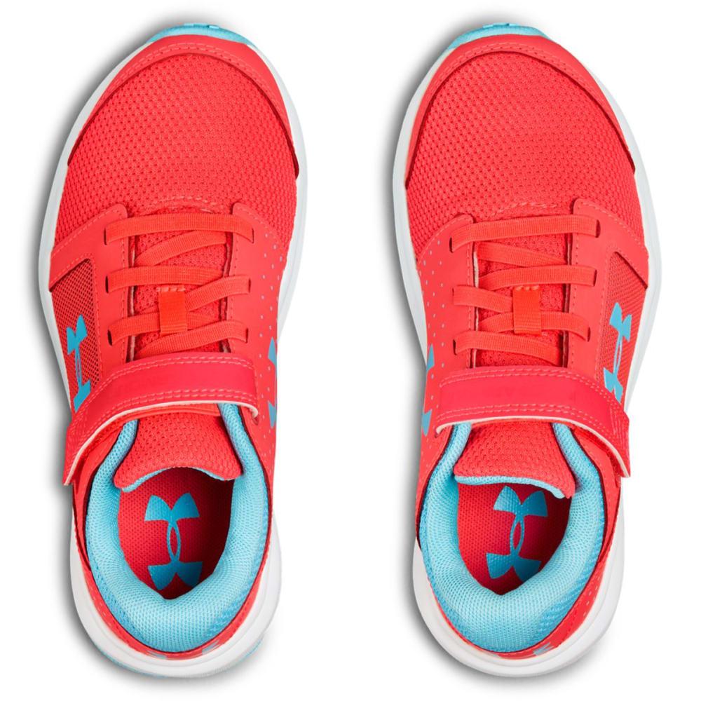 UNDER ARMOUR Little Girls' Preschool Unlimited AC Running Shoes - PENTA PUNK - 600