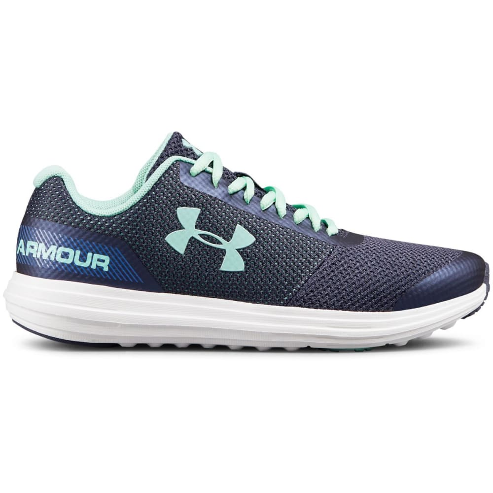 UNDER ARMOUR Big Girls' Grade School UA Surge Running Shoes - UTILITY BLUE-500