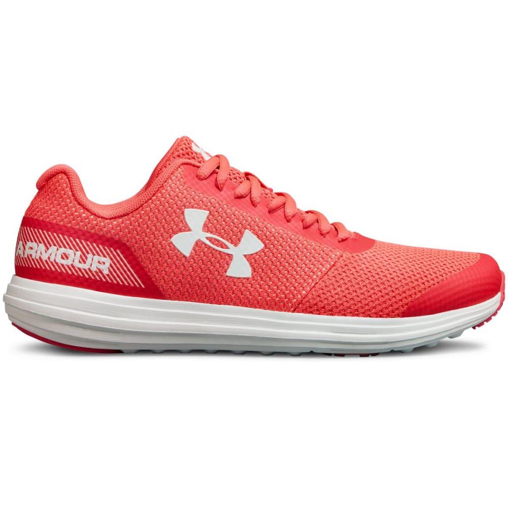 UNDER ARMOUR Big Girls' Grade School Unlimited Running Shoes - PENTA PINK -600