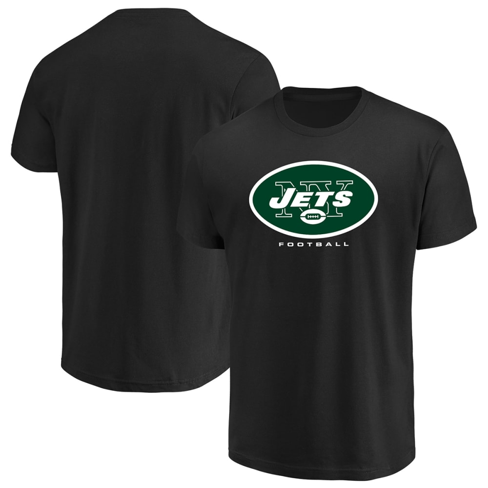 NEW YORK JETS Men's Critical Victory III Short-Sleeve Tee - BLACK