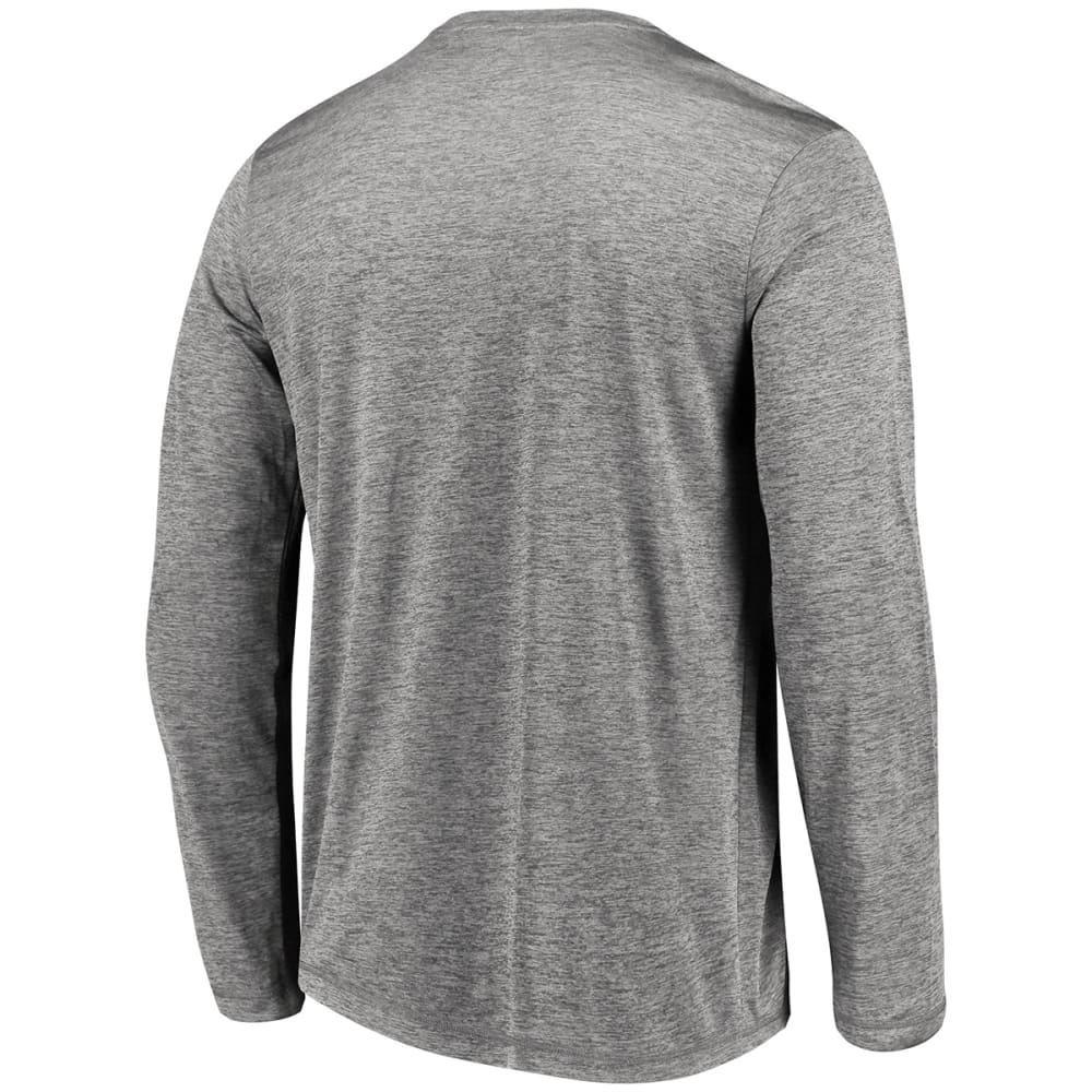 NEW YORK JETS Men's Touchback Long-Sleeve Tee - GREY