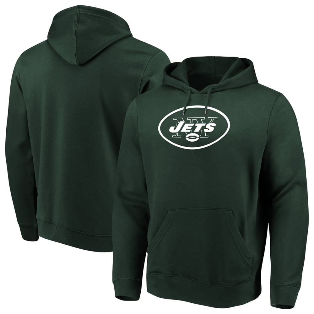 NEW YORK JETS Men's Perfect Play Pullover Hoodie L