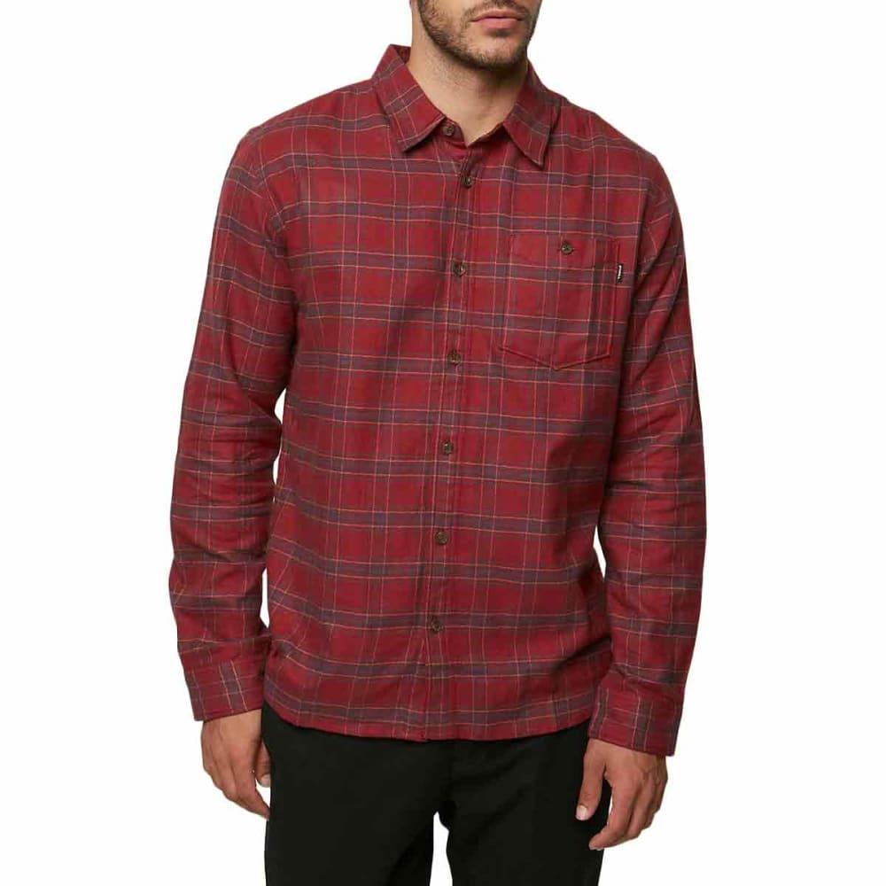 O'NEILL Guys' Redmond Long-Sleeve Flannel Shirt S