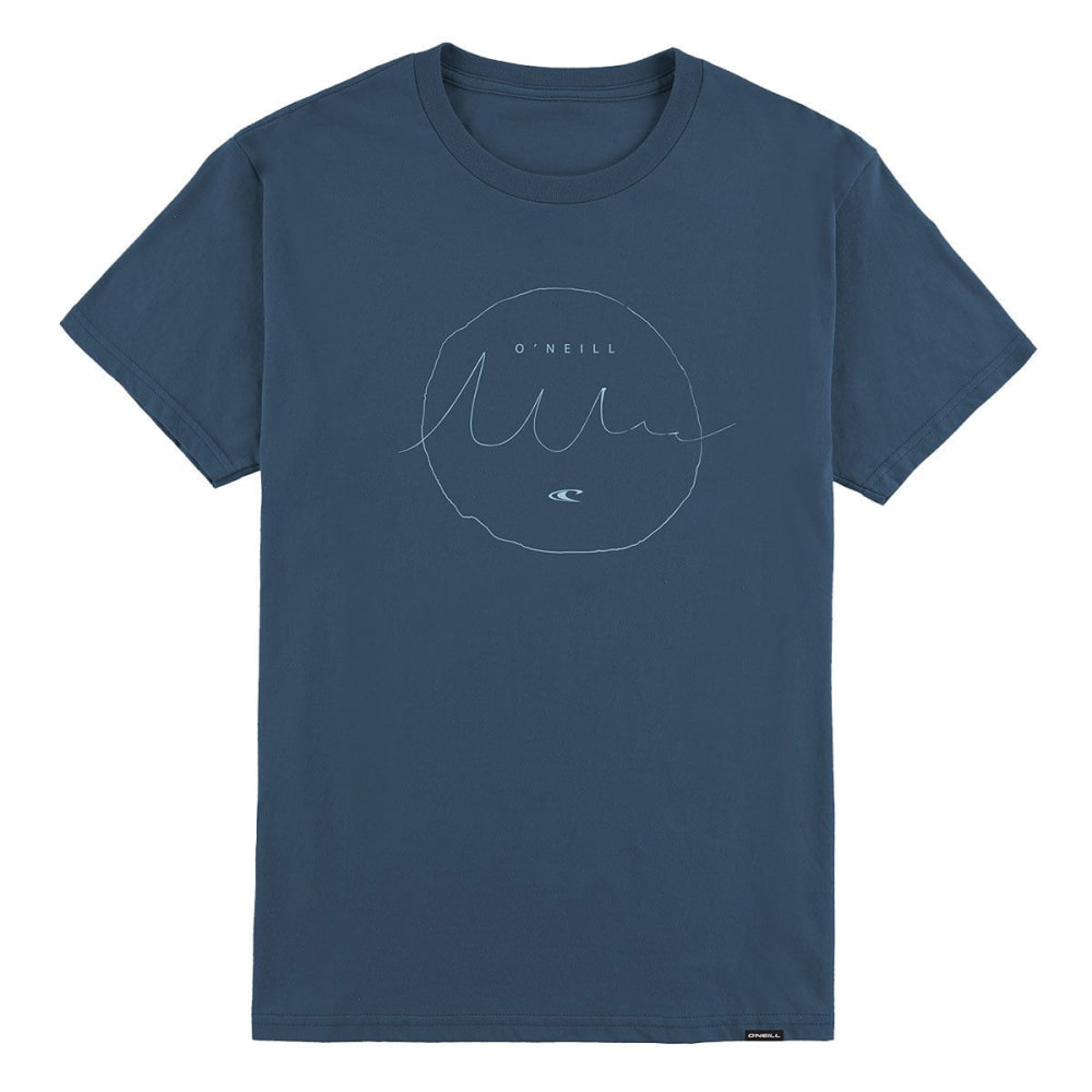 O'neill Guys' Interview Short-Sleeve Tee - Blue, S