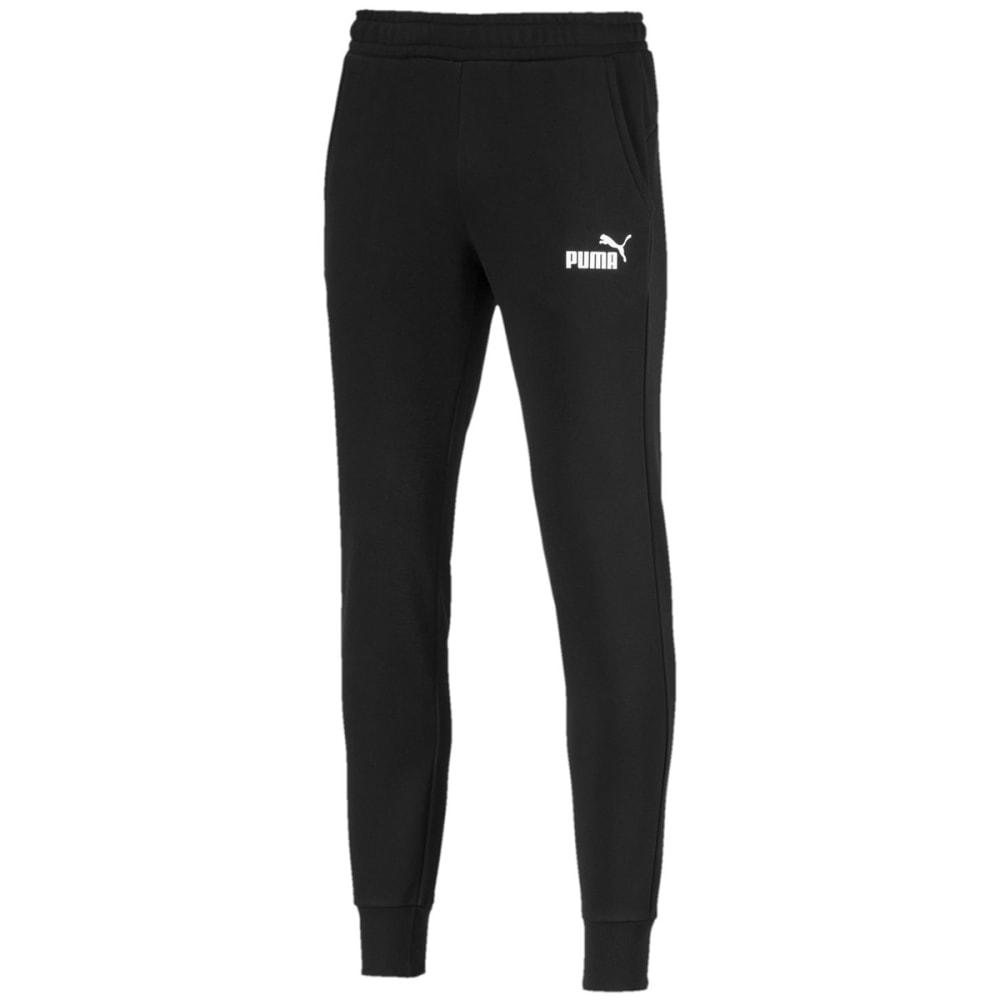 PUMA Men's Essentials Fleece Jogger Pants - PUMA BLACK-01