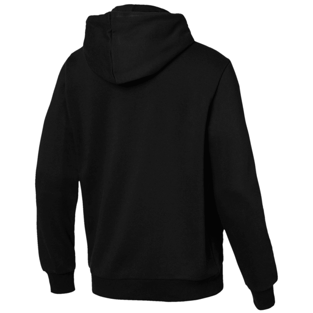 PUMA Men's Essentials Fleece Pullover Hoodie - BLACK-01