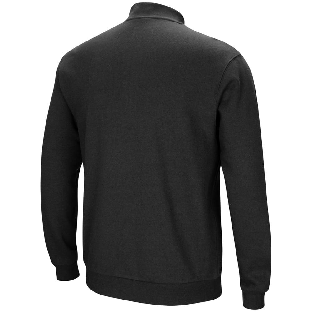 PROVIDENCE COLLEGE Men's Playbook 1/4 Zip Fleece Pullover - BLACK