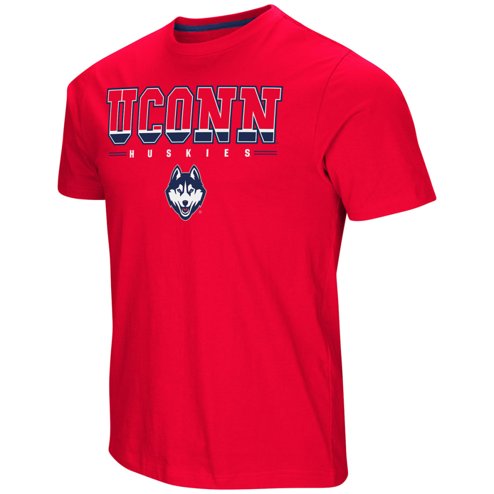 UCONN Men's Tackle Short-Sleeve Tee - RED