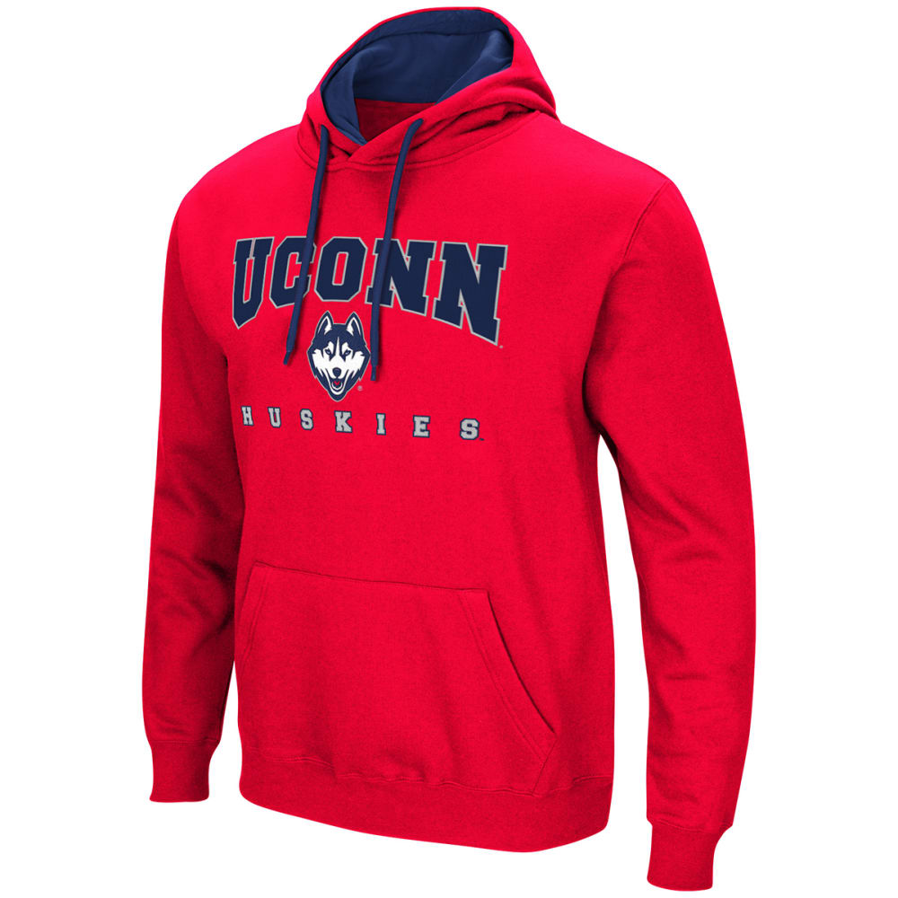 UCONN Men's Playbook Pullover Hoodie - RED