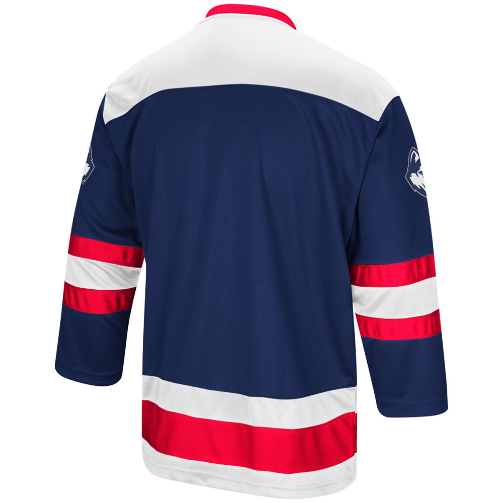 UCONN Men's Athletic Machine Hockey Sweater - NAVY