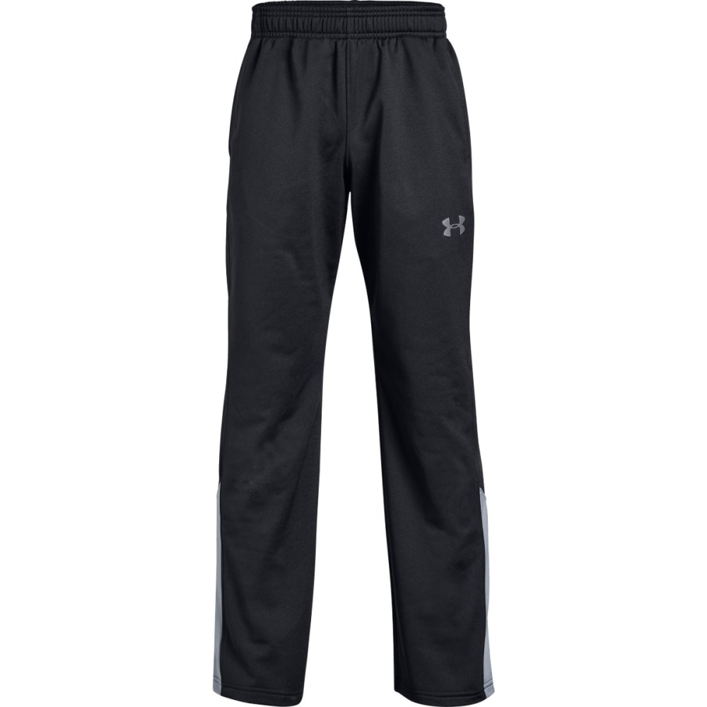 UNDER ARMOUR Big Boys' UA Brawler 2.0 Pants - BLACK/STEEL-001