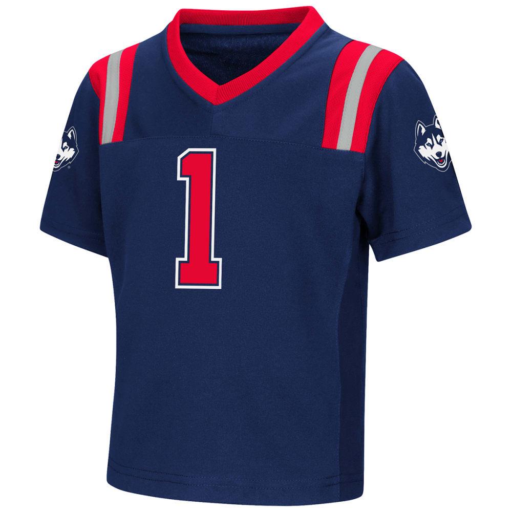 UCONN Toddler Boys' Foos-Ball Short-Sleeve Football Jersey - NAVY