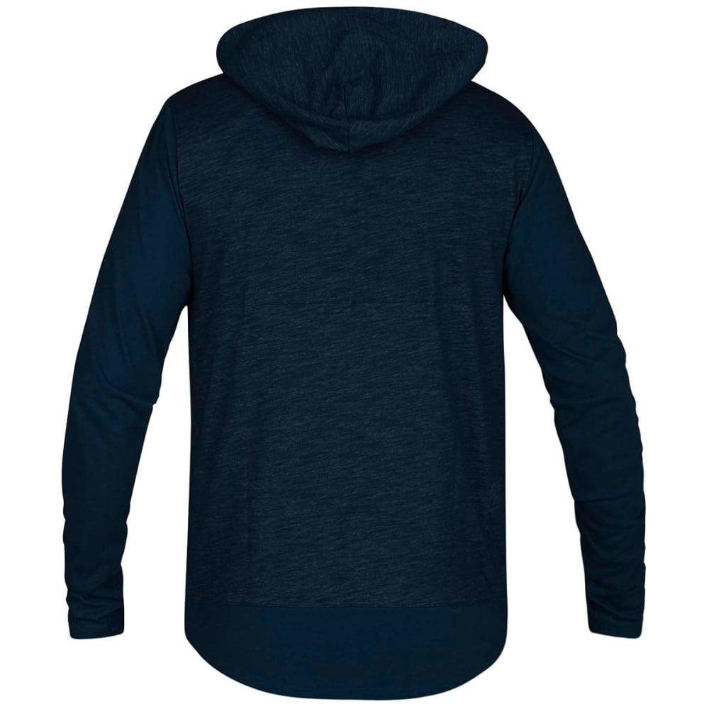 HURLEY Men's Dri-FIT Lagos Pullover Hoodie - BLUE FORCE-474