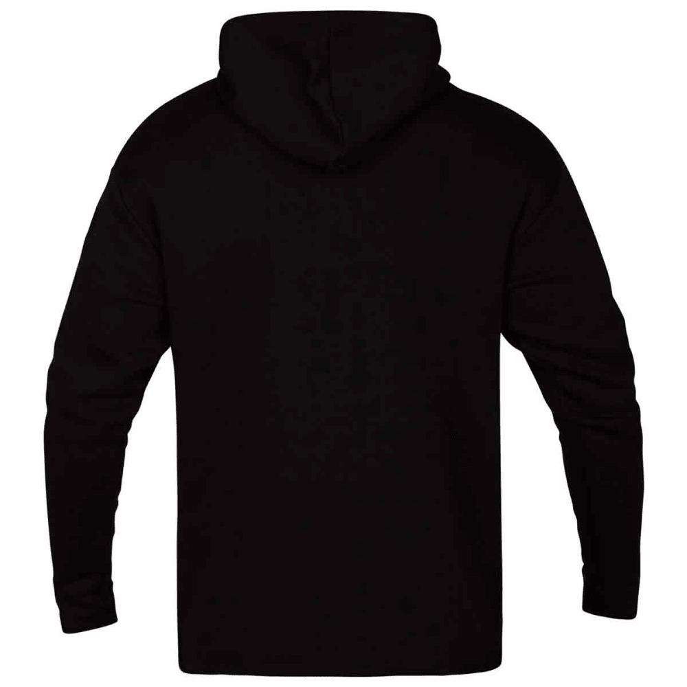 HURLEY Guys' Surf Check Outliner Pullover Hoodie - BLACK-010