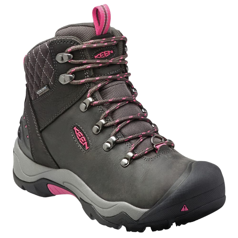 Keen Women's Revel Iii Waterproof Insulated Mid Hiking Boots - Black, 8