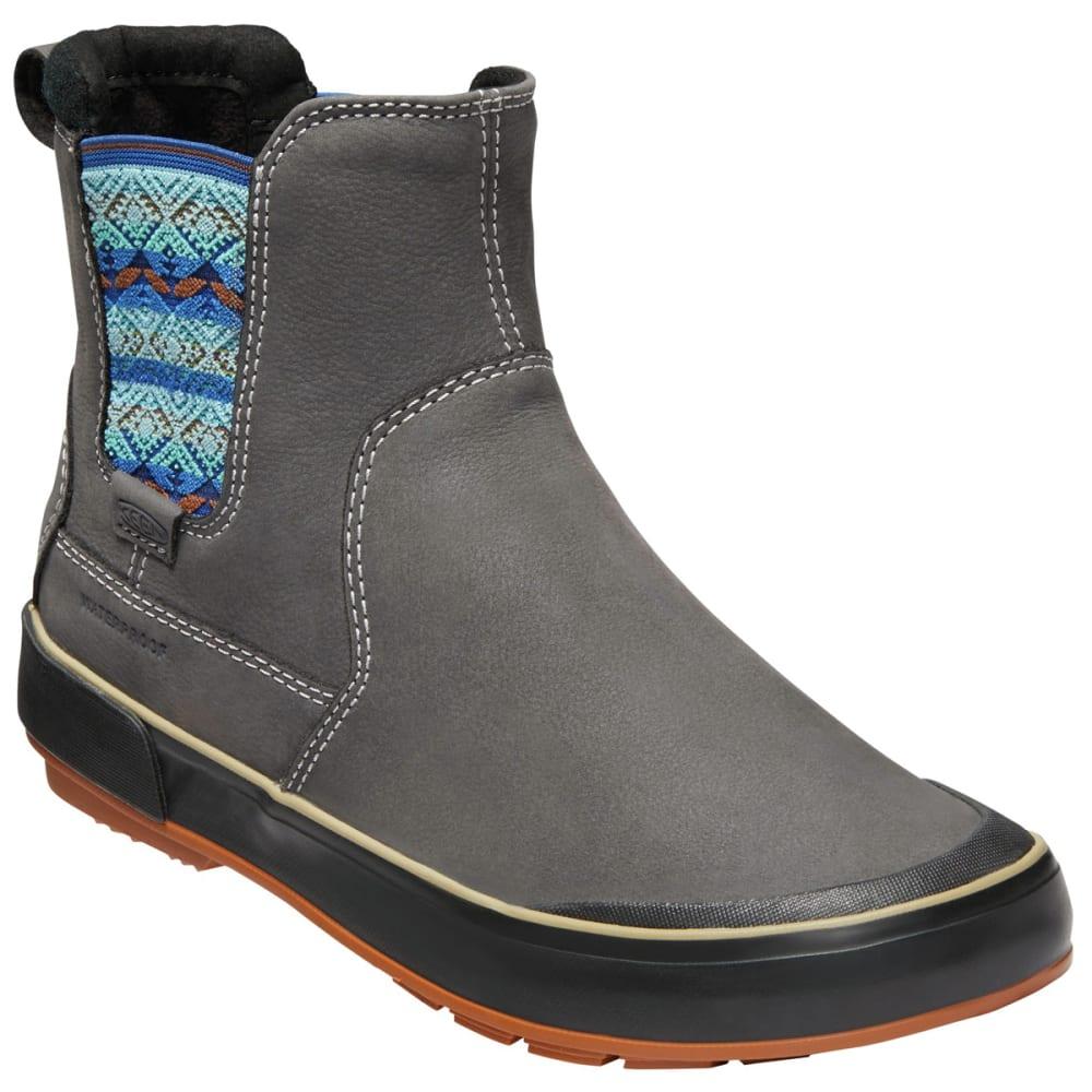 Keen Women's Elsa Ii Waterproof Insulated Chelsea Boots - Black, 8.5