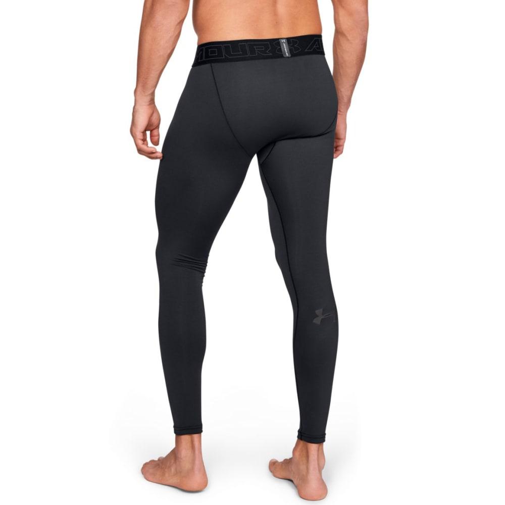 UNDER ARMOUR Men's ColdGear Leggings - BLACK-001