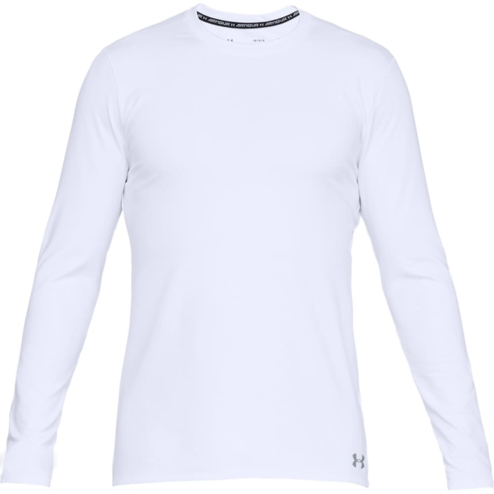 UNDER ARMOUR Men's ColdGear® Fitted Crew Long-Sleeve Shirt M