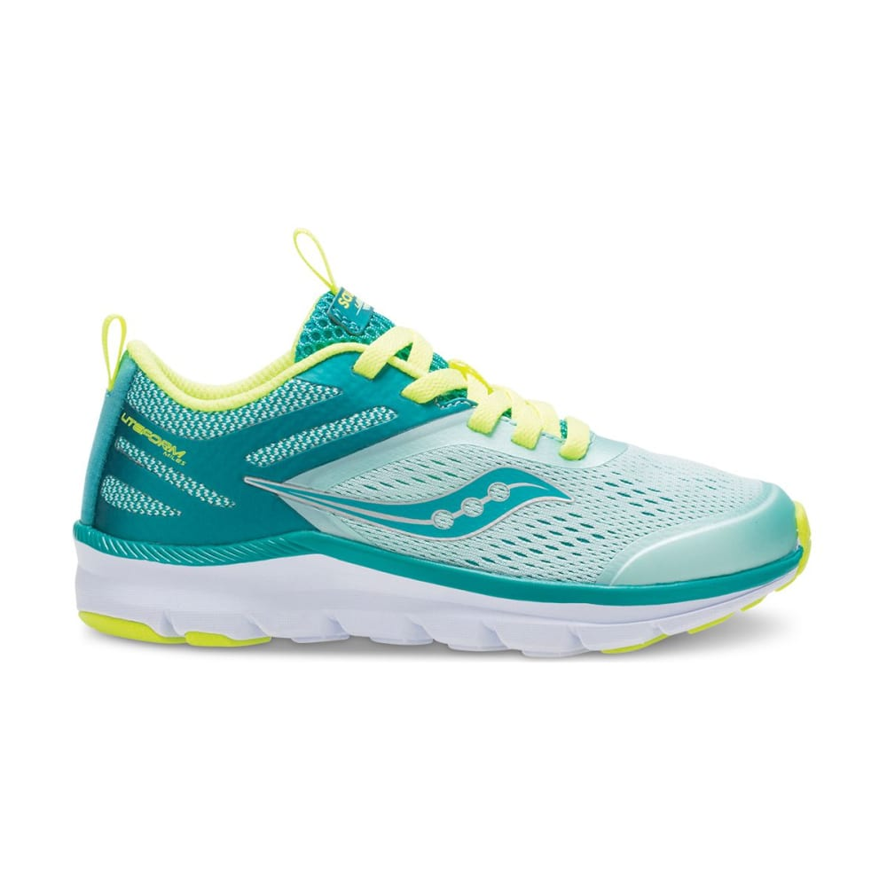 SAUCONY Big Girls' Liteform Miles Sneakers - TURQ