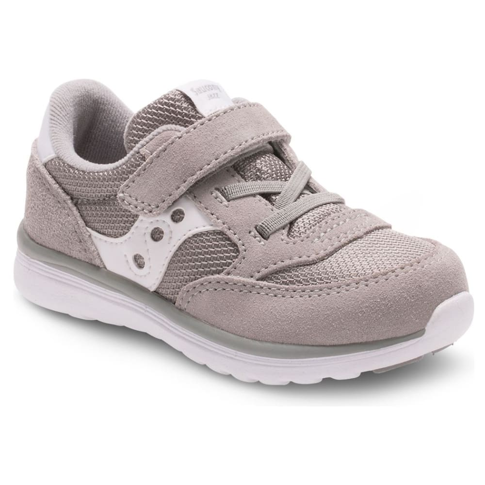 SAUCONY Toddler Boys' Baby Jazz Lite Sneakers, Wide - GREY