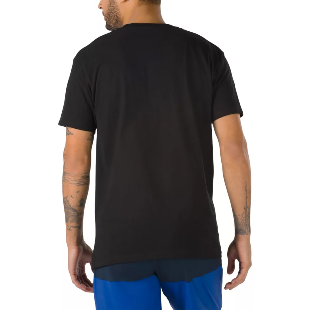 VANS Guys' Classic Short-Sleeve Tee - BLACK/WHITE-Y28