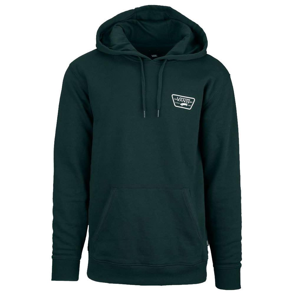 VANS Guys' Full Patched Pullover Hoodie - DARKEST SPRUCE-YDX