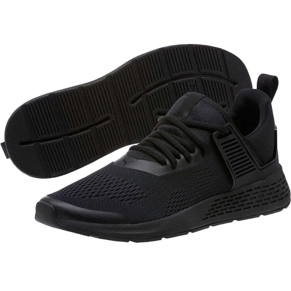 PUMA Men's Insurge Eng Mesh Running Shoes - BLACK-01