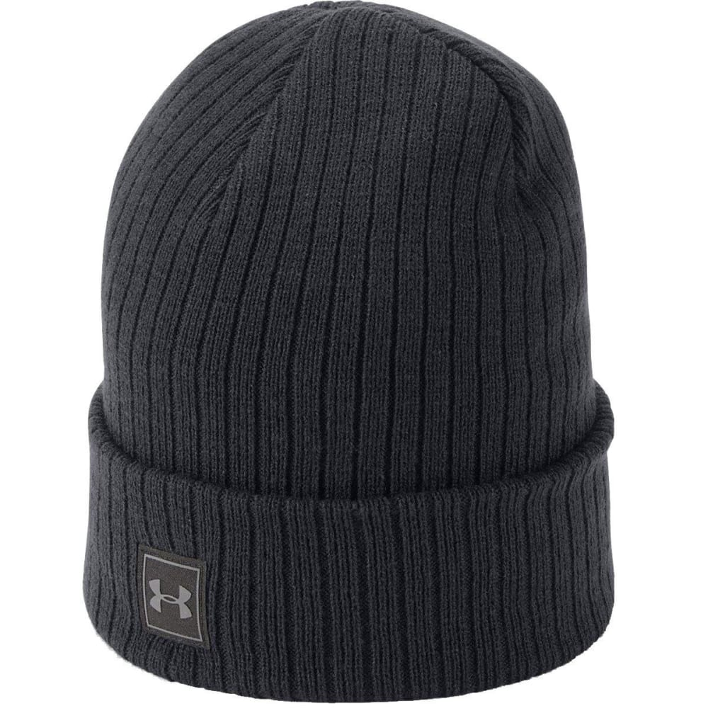 UNDER ARMOUR Men's UA Truckstop 2.0 Beanie - 001-BLACK/BLACK