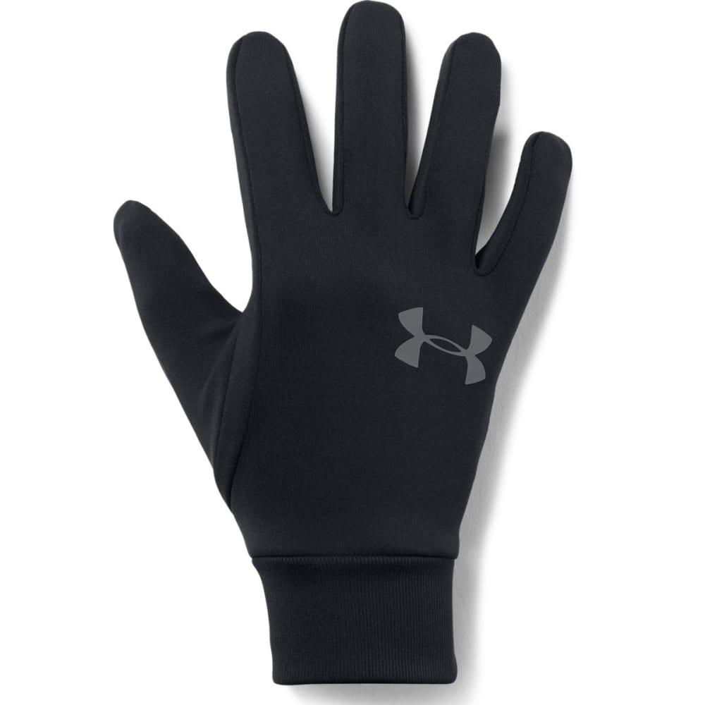 UNDER ARMOUR Men's UA Armour Liner 2.0 Gloves - 001-BLACK/GRAPHITE