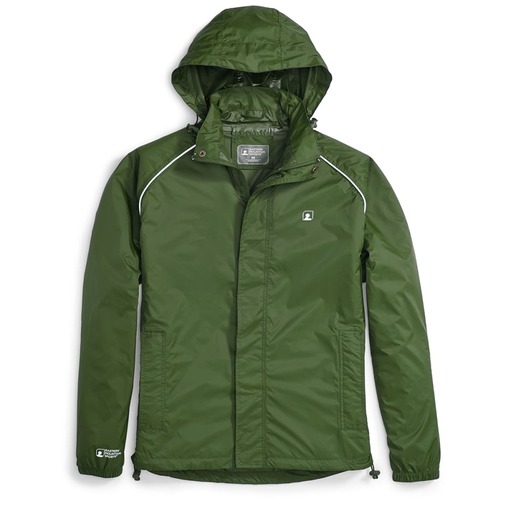 Ems Stasher Jacket - Green, L