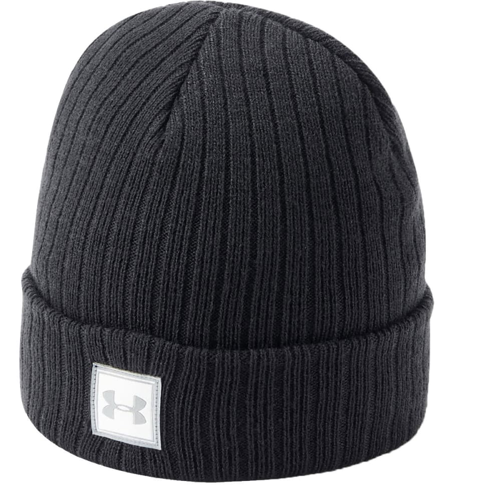 UNDER ARMOUR Boys' UA Truckstop 2.0 Beanie - 001-BLACK/BLACK