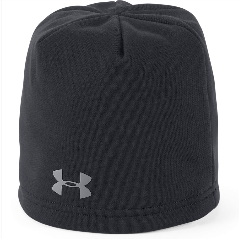 UNDER ARMOUR Boys' UA Storm Fleece Beanie - 001-BLACK/BLACK